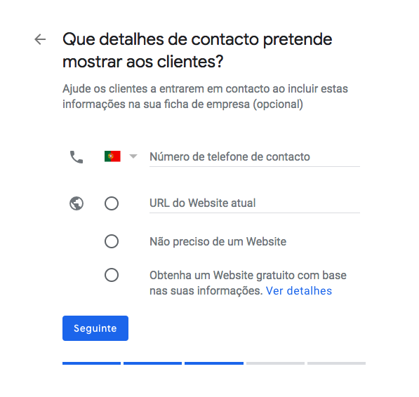 dados google my business
