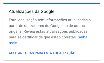 actualizacoes google my business